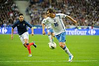FOOTBALL - UEFA EUROPEAN CHAMPIONSHIP 2012 - QUALIFYING - GROUP D - FRANCE v BOSNIA - 11/10/2011 - PHOTO JEAN MARIE HERVIO / DPPI - SENAD LULIC (BOS)