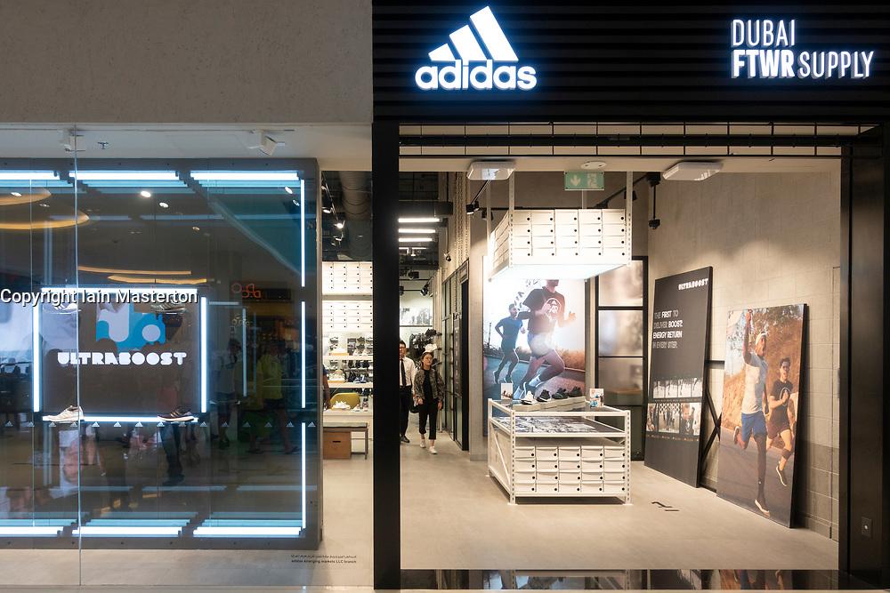 New Adidas footwear shop , Dubai FTWR Supply, inside Dubai Mall, Dubai,UAE