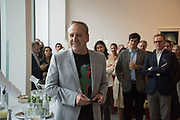 MARK DAVY, Mollie Dent-Brocklehurst and Mark Davy host an evening in celebration of Future/Pace. London SW6, May 22 2018