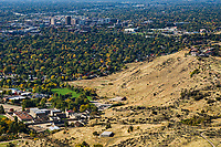 City of Boise from Table Rock