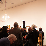 Opening night reception for Engels the Artist 10 year retrospective at the Neuberger Museum
