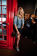 CHLOE MADELEY, The Galleries of Modern London launch party at the Museum of London on May 27, 2010 in London. <br /> -DO NOT ARCHIVE-© Copyright Photograph by Dafydd Jones. 248 Clapham Rd. London SW9 0PZ. Tel 0207 820 0771. www.dafjones.com.