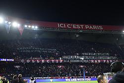 November 2, 2018 - Paris, France - supporters du PSG - Ambiance - banderole (Credit Image: © Panoramic via ZUMA Press)