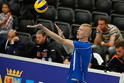 20170524 NED: 2018 FIVB Volleyball World Championship qualification, Koog aan de Zaan<br />Vasile Talpa (13) of Republic of Moldova <br />©2017-FotoHoogendoorn.nl / Pim Waslander