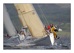 Yachting- The first days inshore racing  of the Bell Lawrie Scottish series 2002 at Tarbert Loch Fyne. Near perfect conditions saw over two hundred yachts compete. <br />Elan 333 Elanor (3331C) overall winner, class 3<br />Pics Marc Turner / PFM
