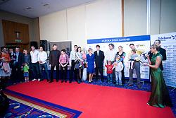 Ex slovenian olympic athletes at Best Slovenian athlete of the year ceremony, on November 15, 2008 in Hotel Lev, Ljubljana, Slovenia. (Photo by Vid Ponikvar / Sportida)