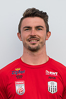 Download von www.picturedesk.com am 16.08.2019 (13:58). <br /> PASCHING, AUSTRIA - JULY 16: Physiotherapist Philipp Schopper of LASK during the team photo shooting - LASK at TGW Arena on July 16, 2019 in Pasching, Austria.190716_SEPA_19_054 - 20190716_PD12434