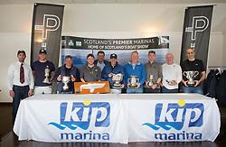 Pelle P Kip Regatta 2019 Prizegiving<br /> <br /> All Winners