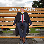 """24.08.2016        <br /> Over 300 students graduated from the Faculty of Science and Engineering at the University of Limerick today. <br /> <br /> Munster rugby player Jack O'Donoghue was conferred with a Bachelor of Science in Pharmaceutical and Industrial Chemistry at the conferring ceremony. Picture: Alan Place.<br /> <br /> As the University of Limerick commences four days of conferring ceremonies which will see 2568 students graduate, including 50 PhD graduates, UL President, Professor Don Barry highlighted the continued demand for UL graduates by employers; """"Traditionally UL's Graduate Employment figures trend well above the national average. Despite the challenging environment, UL's graduate employment rate for 2015 primary degree-holders is now 14% higher than the HEA's most recently-available national average figure which is 58% for 2014"""". The survey of UL's 2015 graduates showed that 92% are either employed or pursuing further study."""" Picture: Alan Place"""