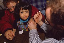 A free immunization and TB testing initiative in New York, 06/03/1993