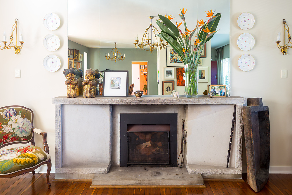 the parapet, castlecrag, living room
