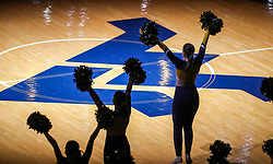 Feb 18, 2019; Morgantown, WV, USA; West Virginia Mountaineers dancers perform before the game against the Kansas State Wildcats at WVU Coliseum. Mandatory Credit: Ben Queen-USA TODAY Sports