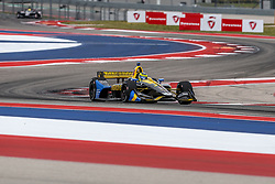 March 23, 2019 - Austin, Texas, U.S - Andretti Autosport driver Zach Veach (26) of United States in action during the practice round at the Circuit of the Americas racetrack in Austin,Texas. (Credit Image: © Dan Wozniak/ZUMA Wire)