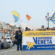 Indipendenza Veneta, a newly founded pro-independence movement, says few thousands members turned up for the rally in the heart of the lagoon city calling for an urgent referendum on the issue...