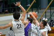 Vermilion at Elyria Catholic boys varsity basketball on December 16, 2014. Images © David Richard and may not be copied, posted, published or printed without permission.