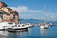 Scenic harbor, Portofino, Ligura, Italy