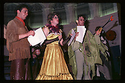 Neil Mendosa, Clovis Meath Baker and Paul Newman at Piers Gaveston Ball. Oxford Town Hall. 1981 approx© Copyright Photograph by Dafydd Jones 66 Stockwell Park Rd. London SW9 0DA Tel 020 7733 0108 www.dafjones.com