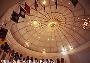 Hershey, PA, Milton Hershey School, Founder's Hall Dome Interior