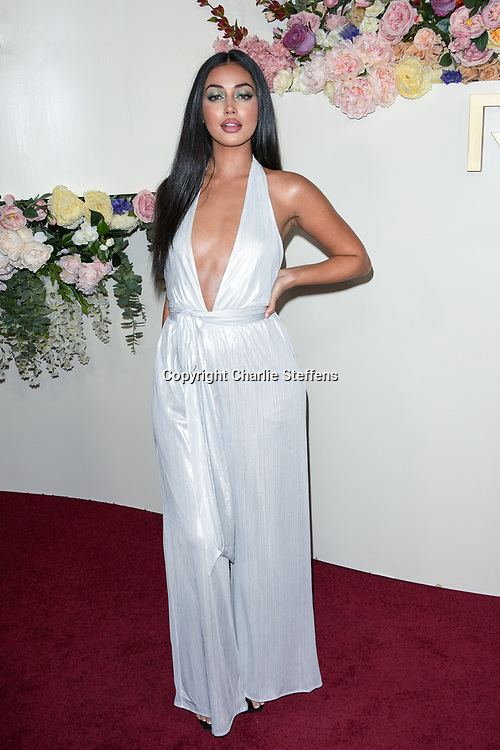 CINDY KIMBERLY attends the 3rd Annual #REVOLVEawards at Goya Studios in Los Angeles, California