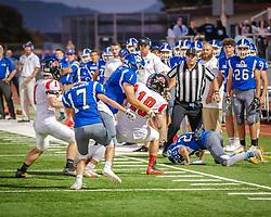 Analy Tigers v El Molino Lions Varsity football, apple game 2019
