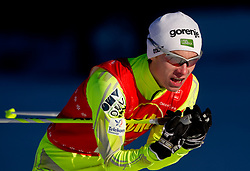Joze Kamenik of SSK Smartno na Pohorju during cross country race for Slovenian National Nordic combined Championship, on January 5, 2011 at Rudno polje, Pokljuka, Slovenia. (Photo by Vid Ponikvar / Sportida.com)