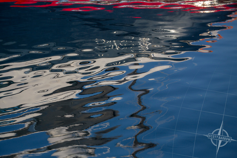 Ripples in the water