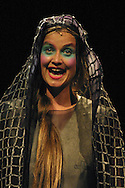 Elena (played by Claudia Schneider) in Ricardo I Elena, an opera based on the life of Carles Santos and staged by his own company which is on at the King's Theatre until 23 August as part of the Edinburgh International Festival.