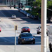 Main Street near Pershing Road in downtown Kansas City, Missouri - taken for Rhythm Engineering.