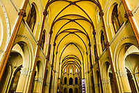 Interior view, Notre Dame Cathedral, Ho Chi Minh City (Saigon), Vietnam.