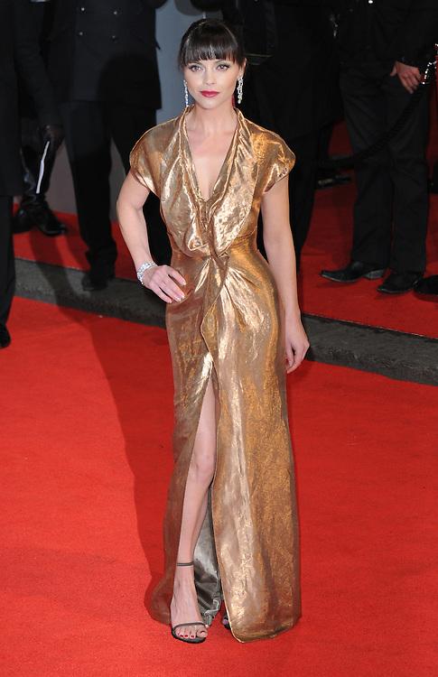 Christina Ricci attends the Orange British Academy Film Awards 2012 at the Royal Opera House, London, UK.. 12/02/2012 Anne-Marie Michel/CatchlightMedia