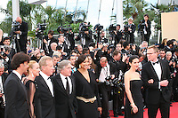 James Woods, Robert De Niro, Grace Hightower and Jennifer Connelly at the gala screening Madagascar 3: Europe's Most Wanted at the 65th Cannes Film Festival. On Friday 18th May 2012 in Cannes Film Festival, France.