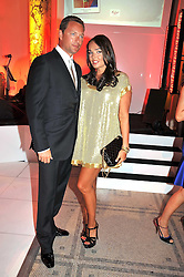 TAMARA ECCLESTONE and ROBERT MONTAGUE at the F1 Party in aid of the Great Ormond Street Hospital Children's Charity held at the V&A, Londonon 17th June 2009.