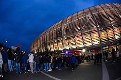 March 15, 2019 - Lille, France - Supporters de l equipe LOSC - ambiance - Arrivee des joueurs de LOSC (Credit Image: © Panoramic via ZUMA Press)