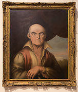 Portrait oil painting of George Coombs, 1768-1810, Radstock museum, Somerset, England, UK