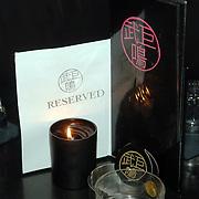 NLD/Amsterdam/20060123 - Feest release film 50 Cent, Logo Jimmy Woo