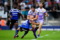 James McRae of Exeter Chiefs - Mandatory by-line: Ryan Hiscott/JMP - 21/09/2019 - RUGBY - Sandy Park - Exeter, England - Exeter Chiefs v Bath Rugby - Premiership Rugby Cup