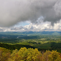 """""""Bringing of the Rains""""<br /> <br /> The beauty of spring storms in the Blue ridge Mountains.<br /> <br /> The Blue Ridge Mountains by Rachel Cohen"""