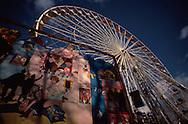 Mural near Ferris Wheel