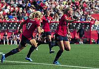 BILDET INNGÅR IKKE I FASTAVTALER<br /> <br /> Fotball<br /> VM kvinner 2015<br /> 22.06.2015<br /> Norge v England 1:2<br /> Foto: imago/Digitalsport<br /> NORWAY ONLY<br /> <br /> Midfielder Solveig Gulbrandsen ( 8) of Norway celebrates after scoring the opening goal during the FIFA 2015 Women s World Cup Round of 16 match between Norway and England at Lansdowne Stadium in Ottawa, Canada.