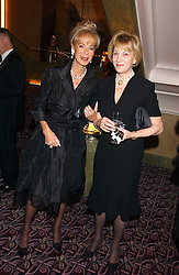 Left to right, ROSEMARY SAID and DOROTHY IND at a ball in aid of the English National Ballet featuring debutantes rom the forthcoming season held at The park Lane Hotel, Piccadilly, London on 16th March 2006.<br /><br />NON EXCLUSIVE - WORLD RIGHTS