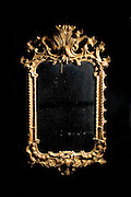 andy spain architectural photography antique mirror black background gold.