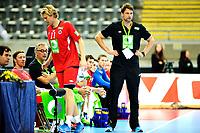 Fredag 1. November 2013 , Hånball , Bring Cup Golden Leauge , Herrer<br /> Norge - Kroatia<br /> Robert Hedin , trener, Norge<br /> Foto: Sjur Stølen / Digitalsport