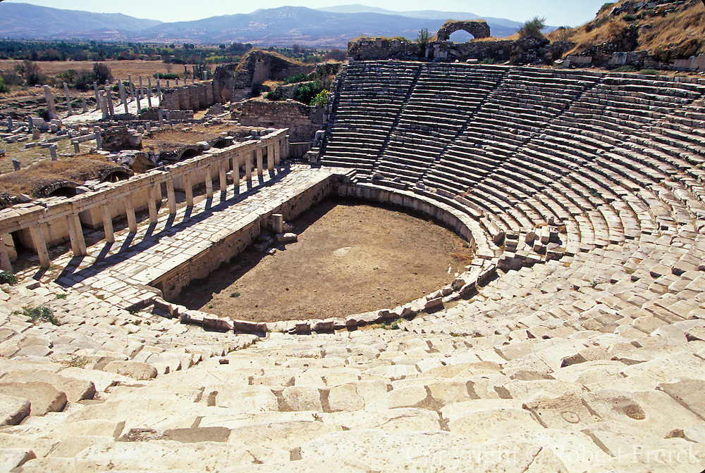 TURKEY, GREEK AND ROMAN Aphrodisias; Great Theater, 8000 seats