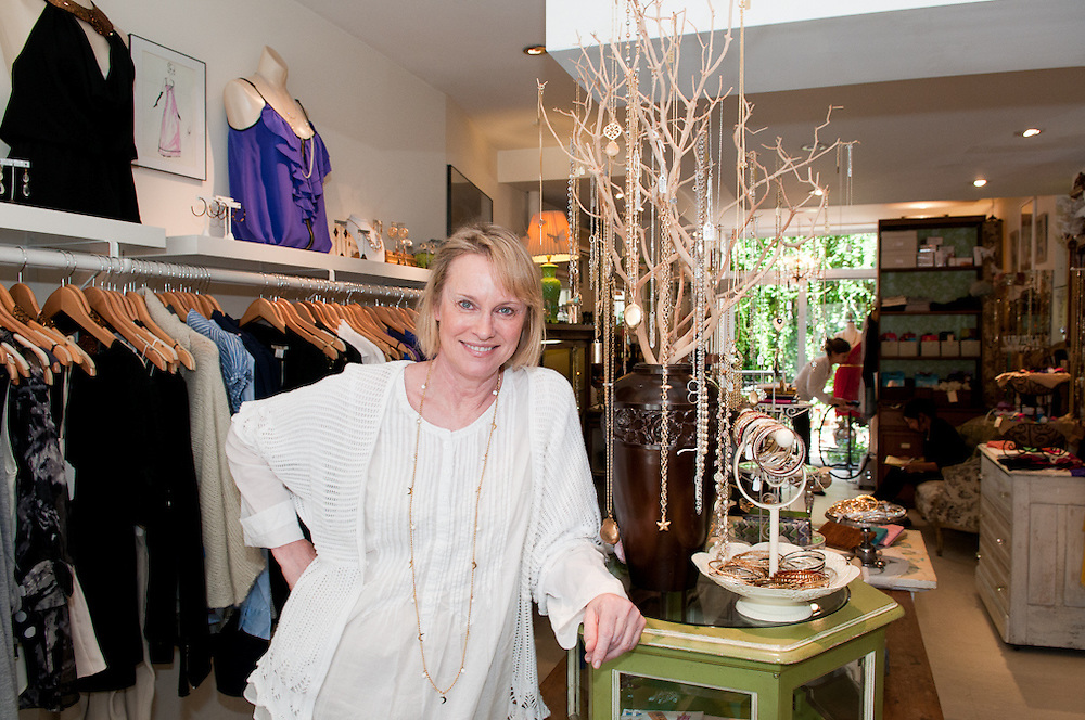 New York, New York, 2010: store owners choose key items from their clothing store that they believe are going to be huge trends this season.  Darling on Haratio street. with owner Ann French Emonts.    photos by tiffany l clark
