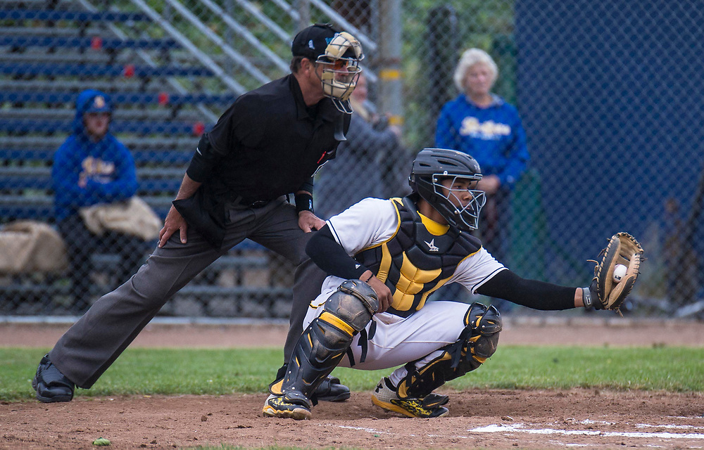 Jun 08, 2017 Vallejo, CA : Admirals # 41 Deybi Garcia  during the baseball game between Sonoma Stompers vs Vallejo Admirals 8-6 win at Wilson Park Vallejo, CA. Thurman James / TJP