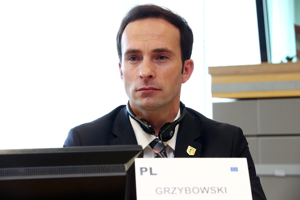11 May 2017, ECR Group meeting<br /> Belgium - Brussels - May 2017 <br /> <br /> GRZYBOWSKI, Pawel Mayor of Rypin ,Poland<br /> <br /> © European Union / Patrick Mascart