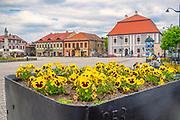 Bochnia, 07.05.2016 (woj. ma?opolskie). Rynek w Bochni.