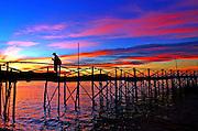 Sun set at Koh Samui, Thailand