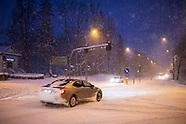 Białystok. Gwałtowna śnieżyca, napadało 20 cm śniegu - 16.01.2021
