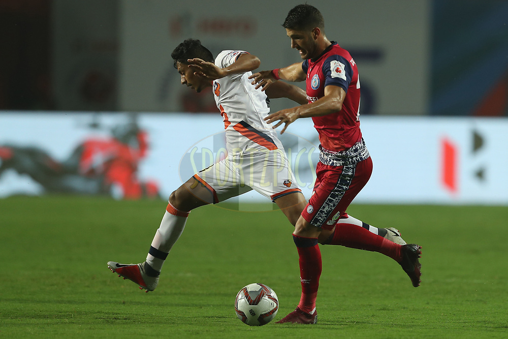 Sergio Cidoncha of Jamshedpur FC during match 25 of the Hero Indian Super League 2018 ( ISL ) between Jamshedpur FC and FC Goa held at JRD Tata Sports Complex, Jamshedpur, India on the 1st November  2018<br /> <br /> Photo by: Ron Gaunt /SPORTZPICS for ISL